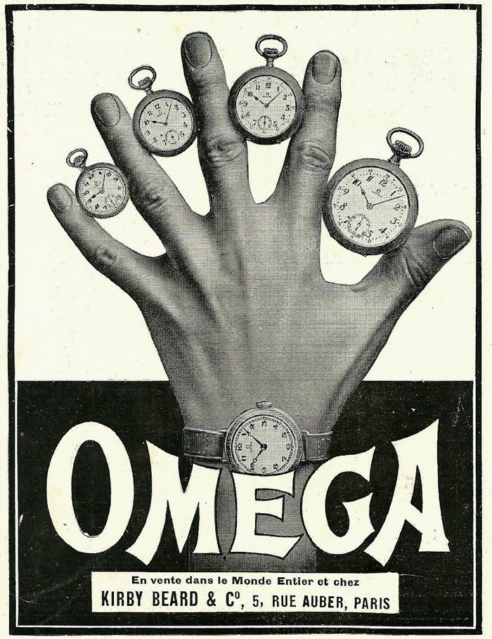 Anuncios Omega