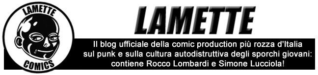 LAMETTE COMICS