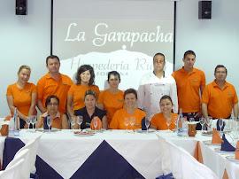 """El equipo de """"La Garapacha"""""""