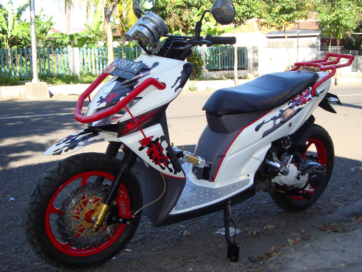 Ganbar Modifikasi Honda Vario Matic