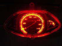 Spidometer LED Vario