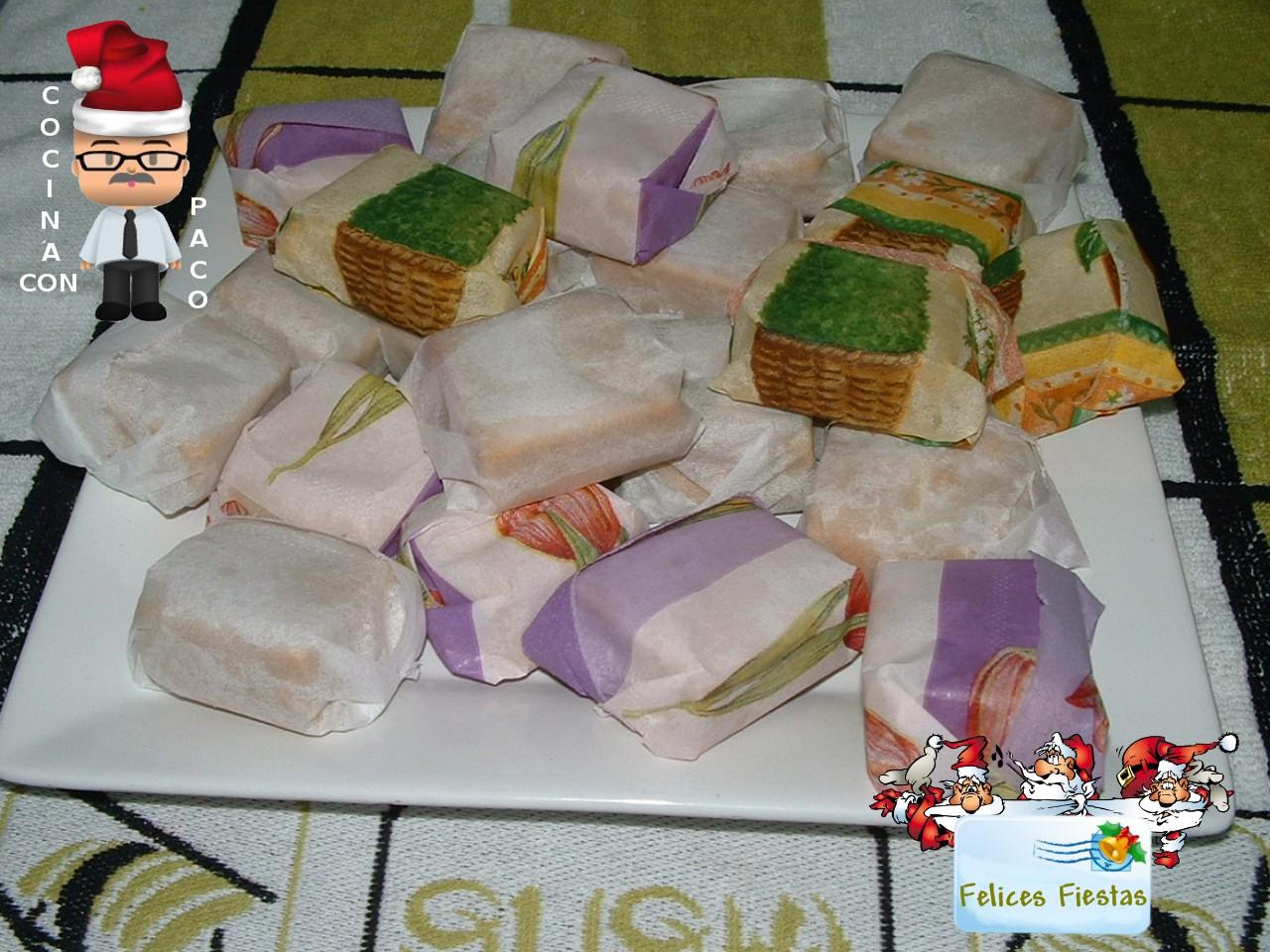 Cocina con paco polvorones caseros - Cocina con paco ...