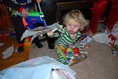 "Landen Finally Getting the ""Christmas Spirit"""