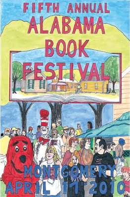 Alabama Book Festival 2010 poster