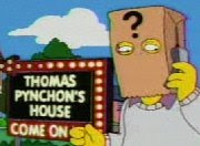 pynchon from the simpsons