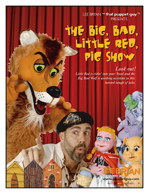 The Big Bad Little Red Pig Show flyer