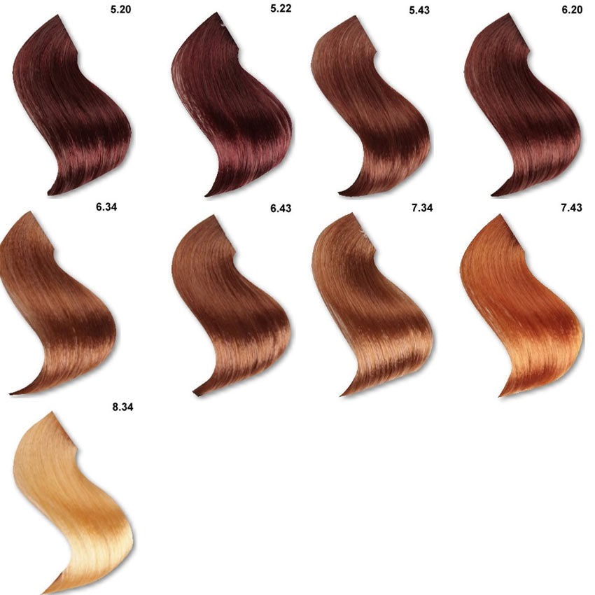 Color de cabello avellana 8 7