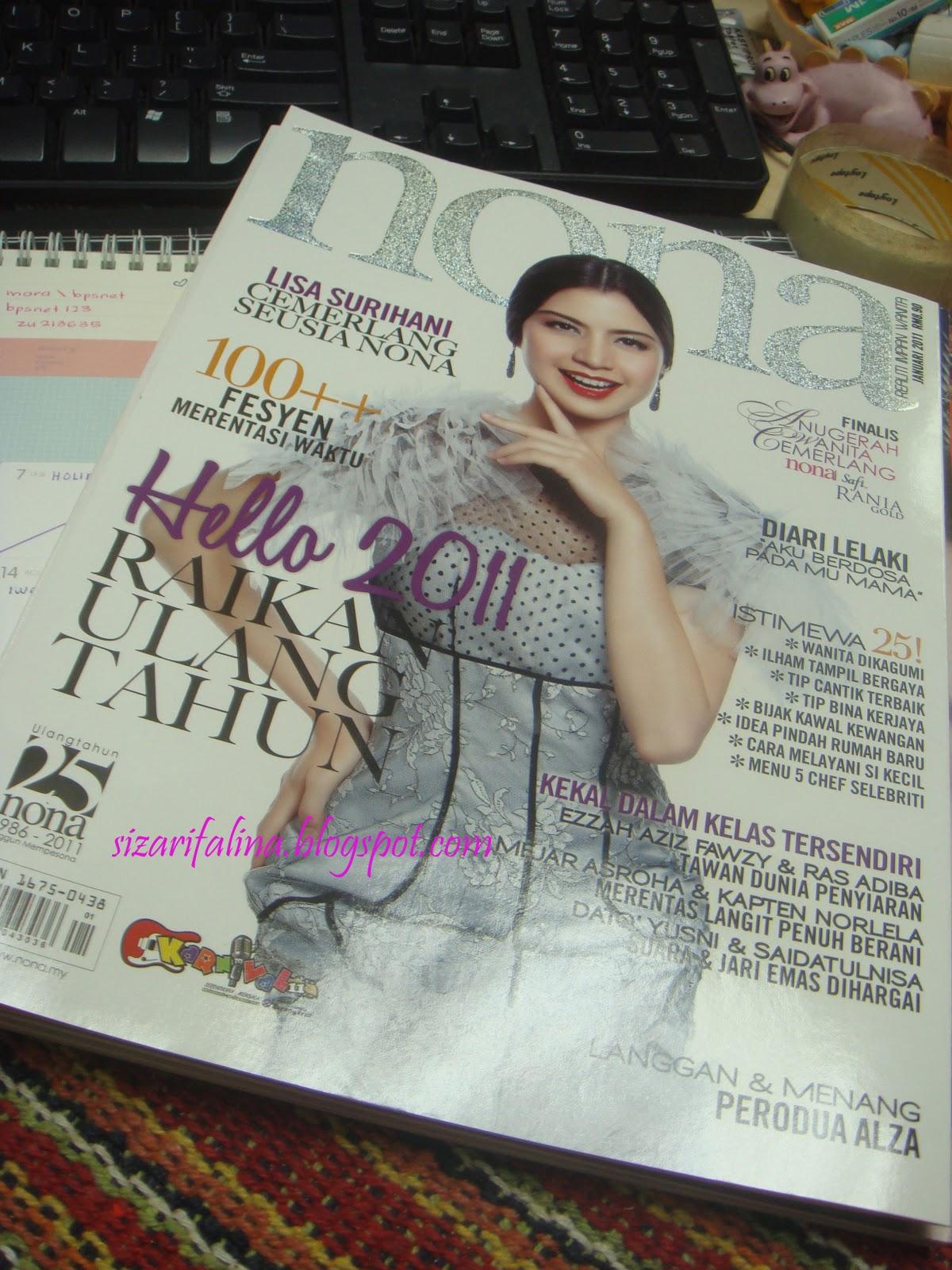 majalah nona kini dah 25 tahun
