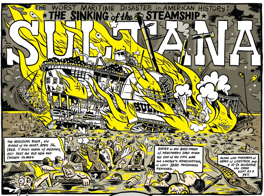 Zettwoch U0026 39 S Suitcase  The Sinking Of The Ss Sultana