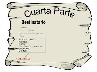Carta Comercial Destinatario