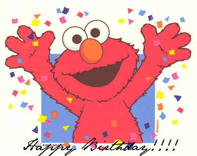 happy birthday elmo pics. say Happy Birthday to my