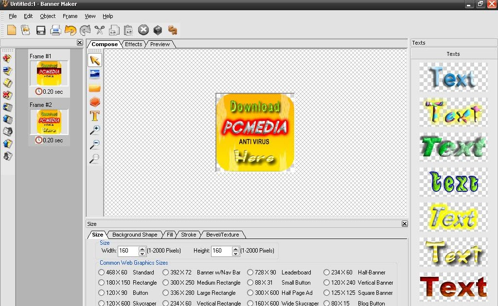 Eximioussoft Banner Maker | Load in crack