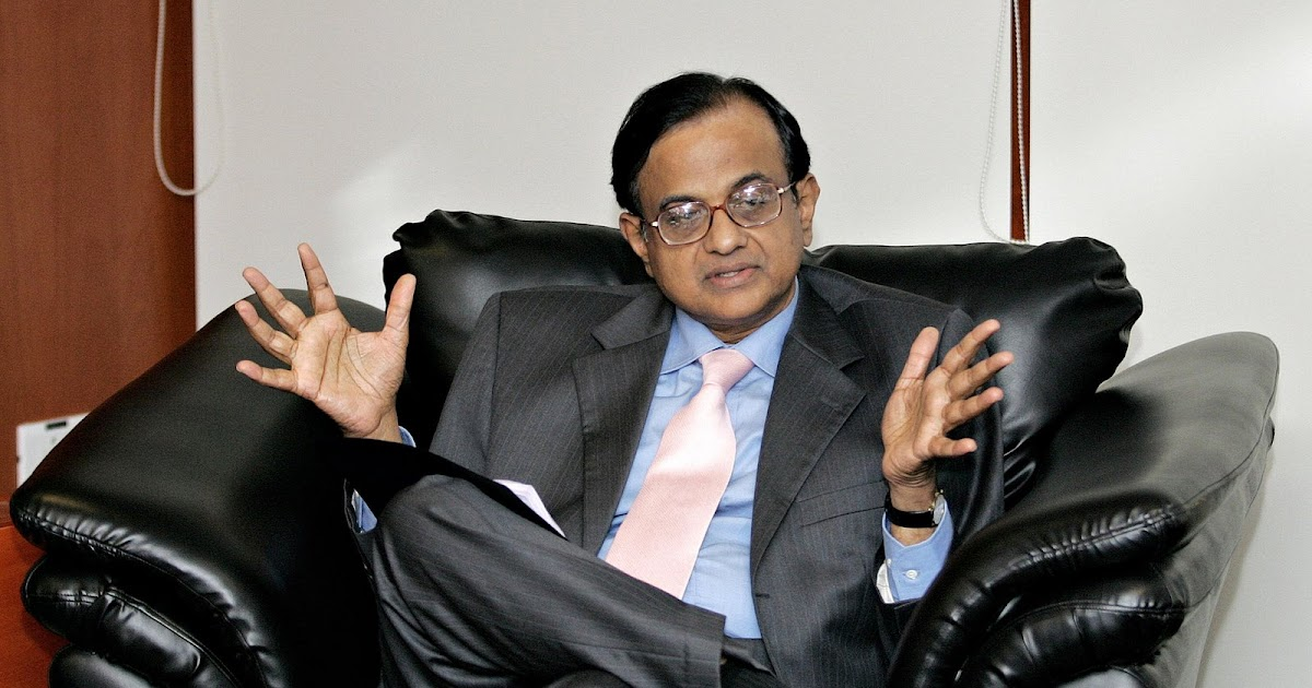 ... as P Chidambaram writes long comments on performance appraisal reports