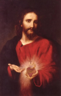 <b>Behold the Heart which <br>has so loved men</b>