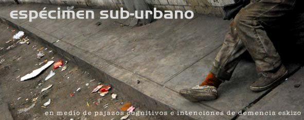 Espécimen Sub-urbano