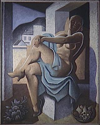 Nu bleu... Metzinger+Jean+(1883-1956,+nu+au+soleil+,mus%C3%A9e+d%27art+moderne+de+la+ville+de+paris