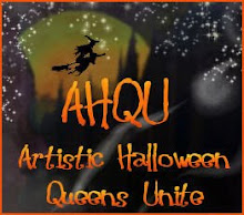 I am proud to be part of AHQU:     Artistic  Halloween Queens United