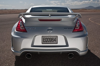 2010 Nissan Nismo 370Z Rear View