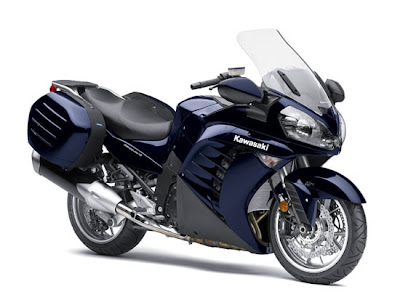 2010 Kawasaki Concours 14 Front Angle View
