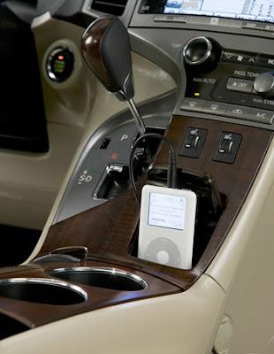 Toyota Venza Interior. 2009 Toyota Venza Interior