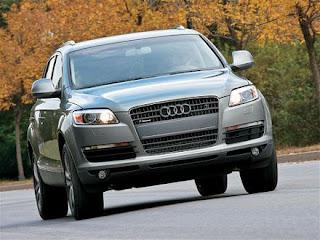 Audi Q7 3.0 TDI Front View