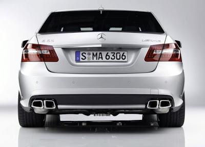 2010 Mercedes-Benz E63 AMG Rear