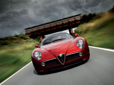 2009 Alfa Romeo 8C Front View