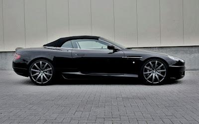 2010 Wheelsandmore Aston Martin DB9 Convertible Side View