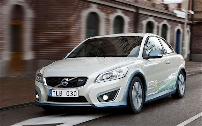 2011 Volvo C30 BEV Front Angle View