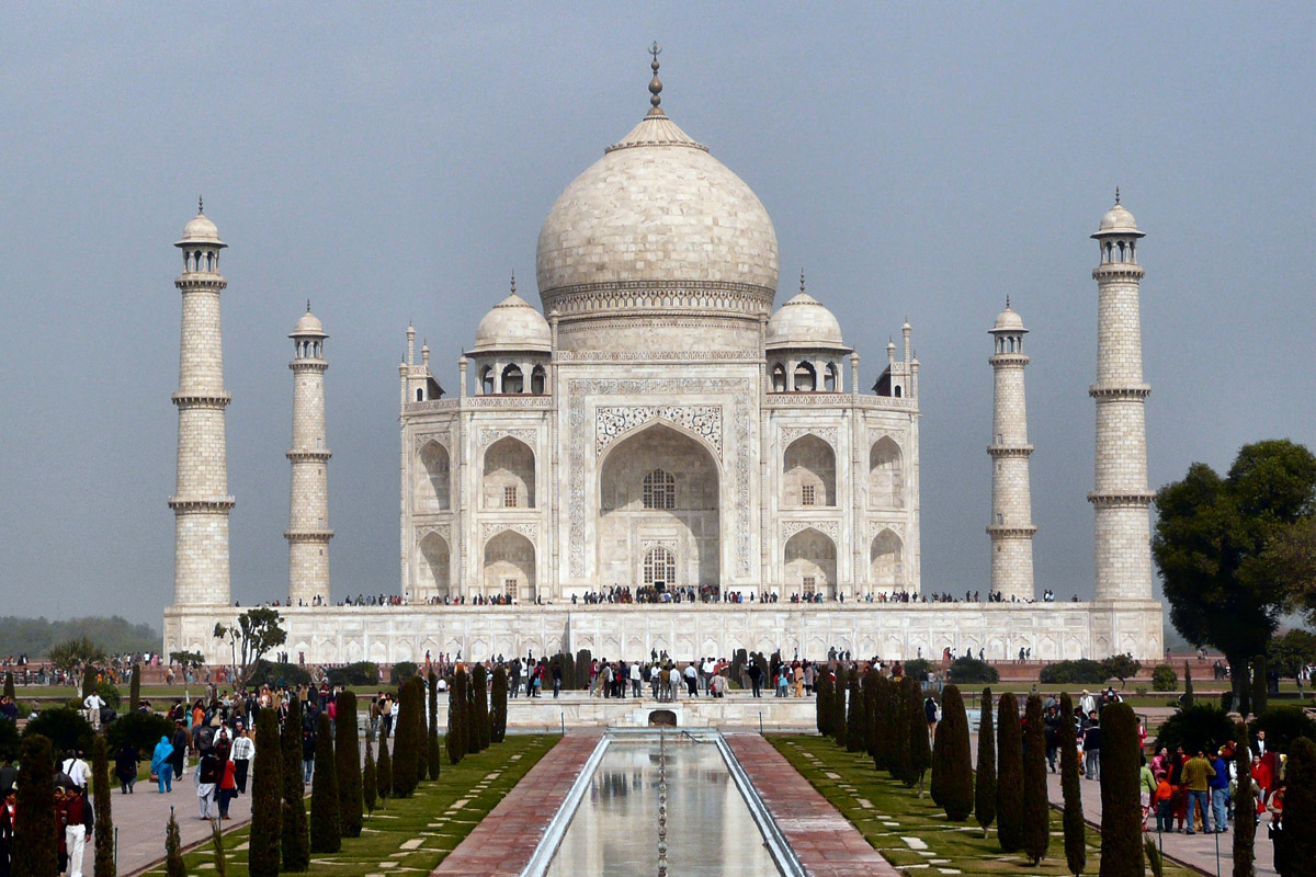 taj mahal now