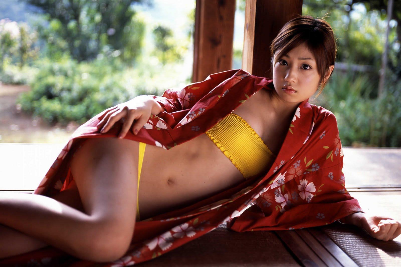 yuko ogura sexy kimono photos 02