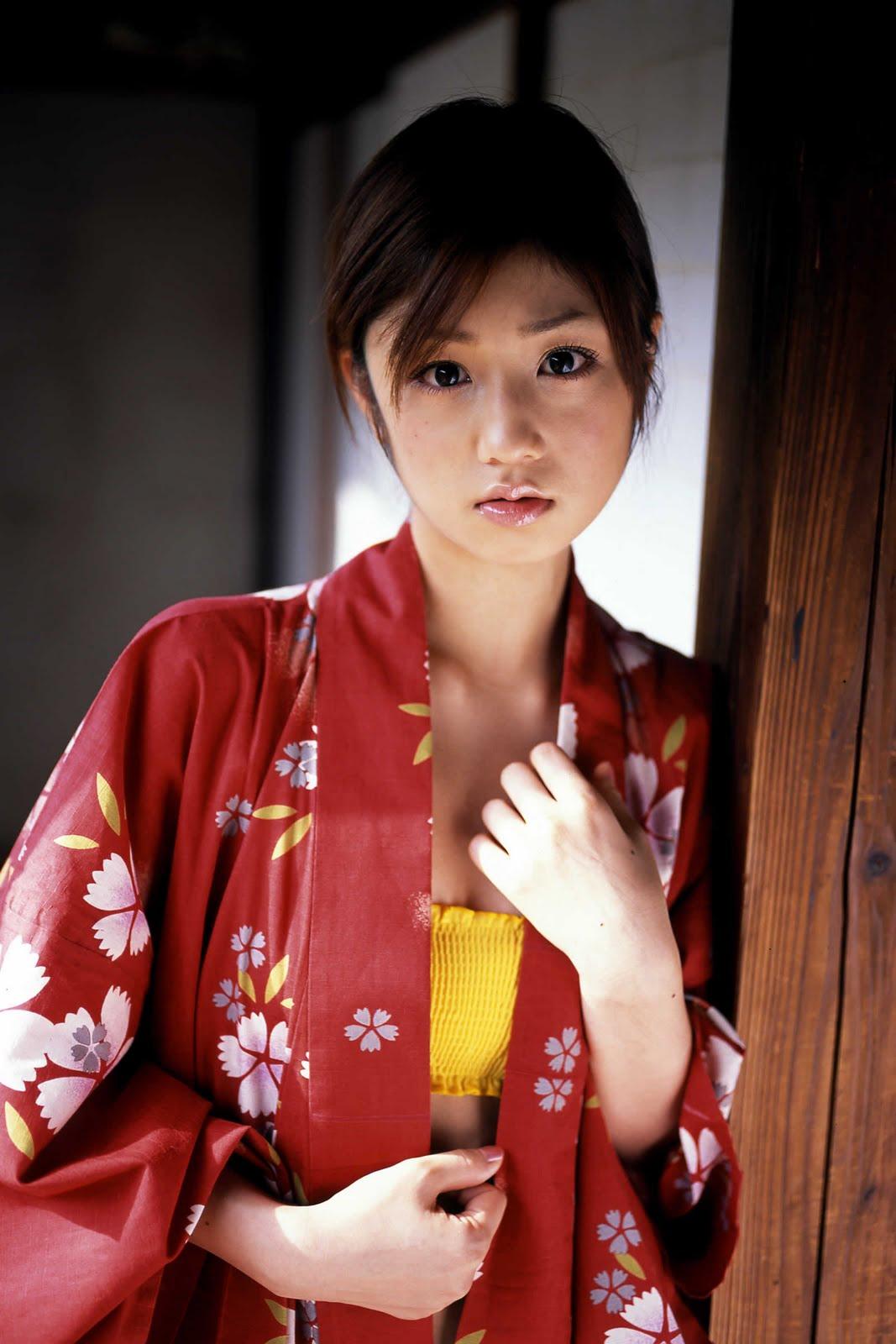 yuko ogura sexy kimono photos 04