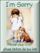Ta med denna bilden till din blogg. Det är en symbol för alla barn i världen som lider i det stilla
