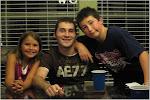 Julia, Bruce and Josh
