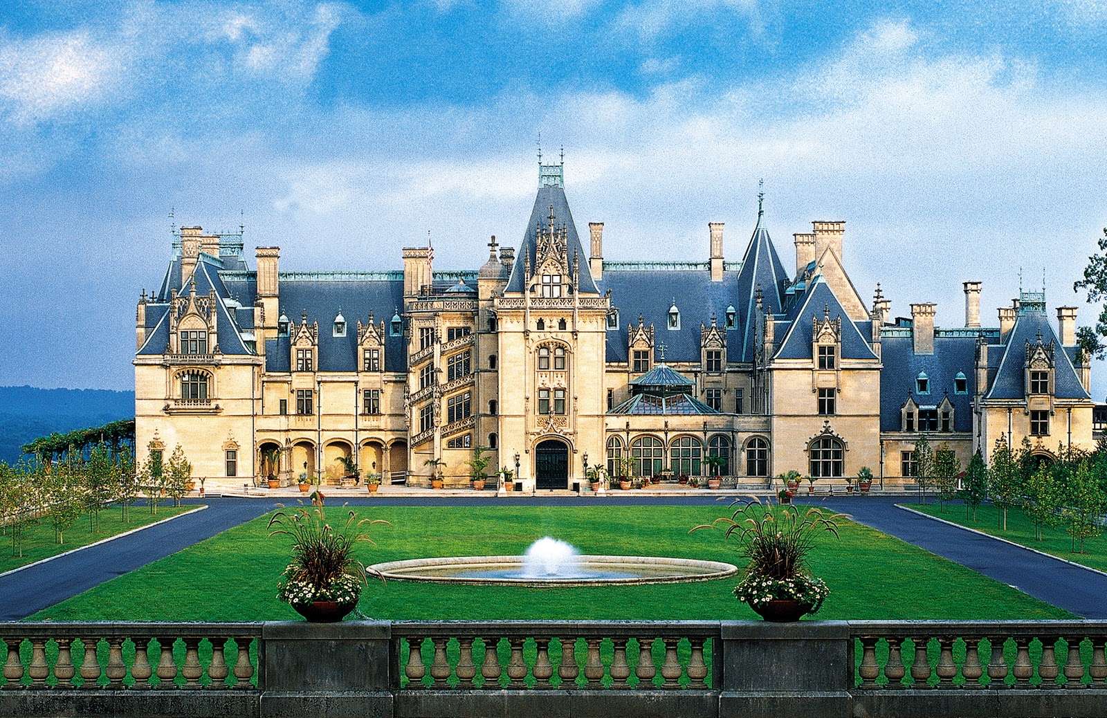 Biltmore estate in asheville, north carolina is truly breathtaking. i