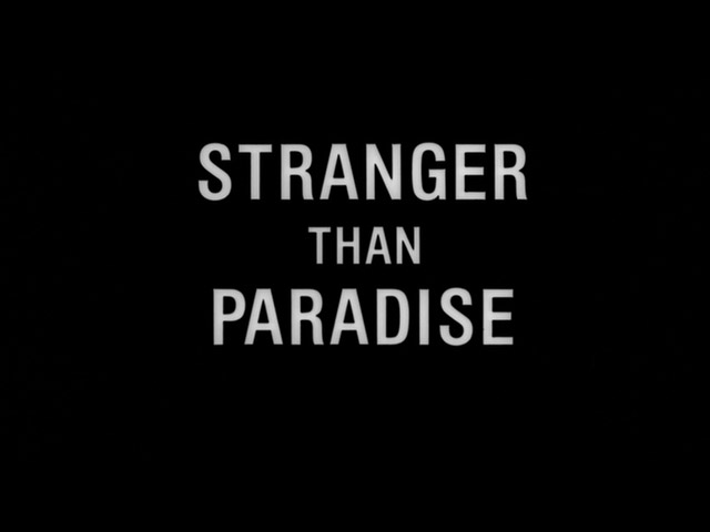 stranger than paradise essay Stranger than paradise includes three sections (or 'chapters')-- each  filmed in a different par of the us : the new world (filmed in new york), one .