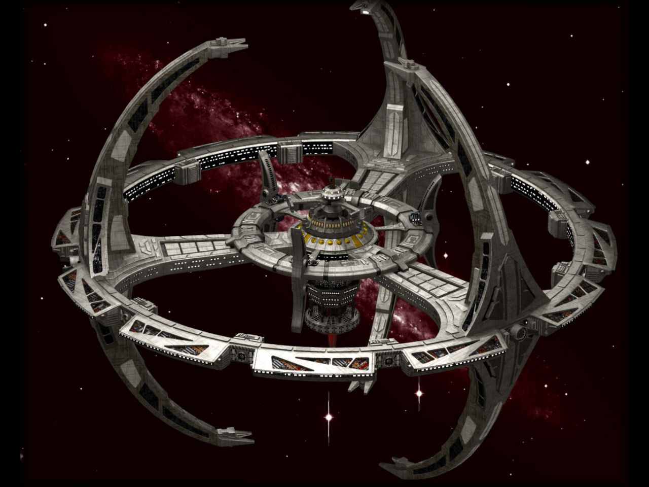 the new ds9 space station - photo #1