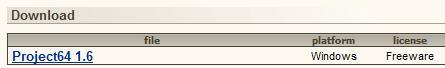 Zona de descarga emulador N64