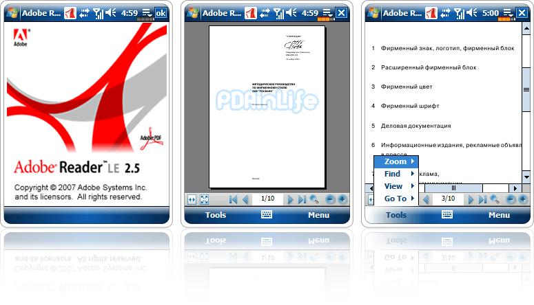 Adobe Reader para Nokia 5800 XpressMusic