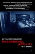 Ver pelcula Paranormal Activity online