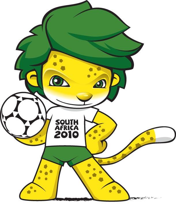 Zakumi la mascota del mundial Sudáfrica 2010