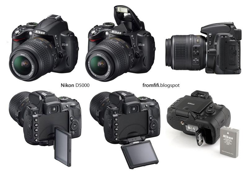 nikon d5000. 500D menjadi Nikon D5000.