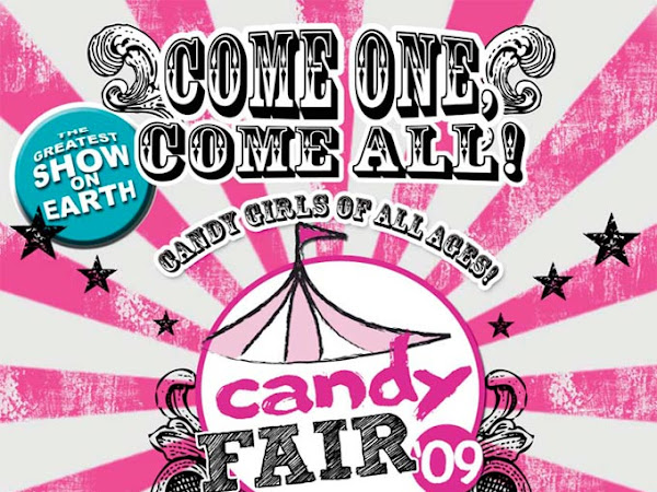 I'm going to the Candy Fair!