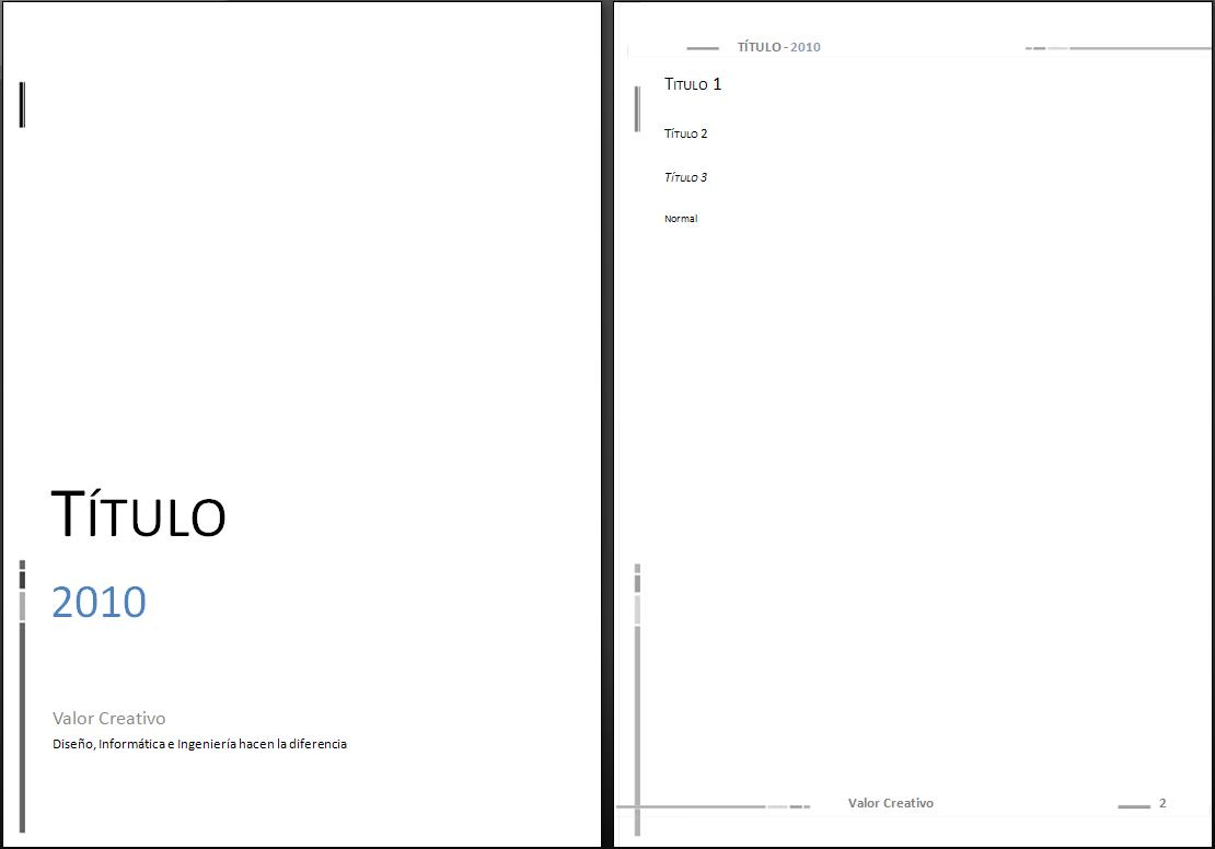 plantilla word 2010 thesis Cca model, word template for loading thesis papers lic  purpose: to create a  microsoft word pattern that can be used as a guide for the elaboration of thesis.