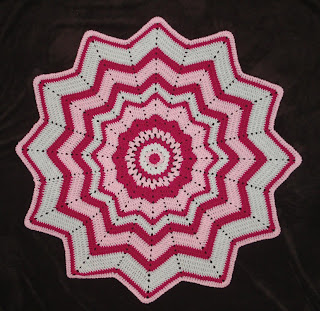 Stormdrac's Crochet and Such: 9 Point Round Ripple - my design