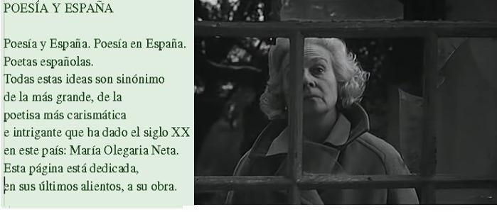 Poesía y España