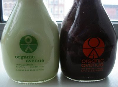 organic avenue smoothies