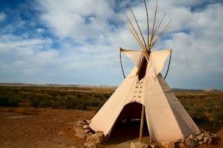 cabana indígena