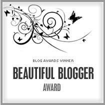 my blogger award...yay!