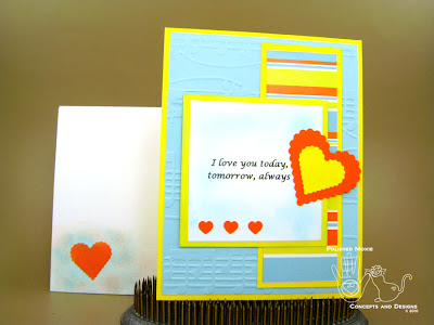 Picture of card and coordinating envelope